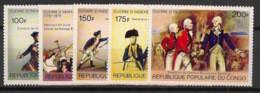 Congo - 1976 - N°Yv. 432 à 436 - US Independance - Neuf Luxe ** / MNH / Postfrisch - Ongebruikt