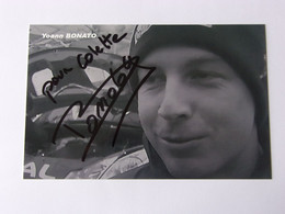 Yoann BONATO - Signé / Hand Signed / Dédicace Authentique / Autographe - Rally