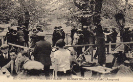 12 * ST MARTIN DE BOUILLAC / BAL CHAMPETRE A L'HOTEL GRATUSSE - Altri Comuni