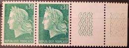 France Stamp 1967-69 N°1536A Paire BdF TD3  ** TB - Ongebruikt