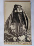 Cpa, Trés Belle Vue Animée, Gros Plan, Womman Of Cairo, Femme Du Caire - Unclassified