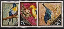 Guinée - 1971 - Poste Aérienne PA N°Yv. 97 à 99 - Oiseaux - Neuf Luxe ** / MNH / Postfrisch - Guinée (1958-...)