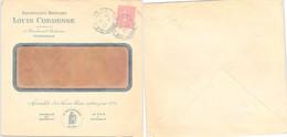 LETTRE PUBLICITAIRE SAVONNERIE BERNABO LOUIS CORDESSE MARSEILLE - LE FER A REPASSER EXTRA - 11.1.1927 /1 - Briefe U. Dokumente