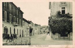 ARONA - VIA FELICE CAVALLOTTI - NOVARA - NON VIAGGIATA - Novara