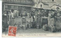 CAUTERETS - LE MARCHE AU LAIT - PLACE DE L'HOTEL-DE-VILLE  ( BON PLAN ) - Cauterets