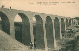 CPA - Le Petit Bourg Des Herbiers - Travaux Viaduc De Coutigny - Animée - Les Herbiers