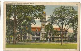 CPA, Trinitad , N°77764 , Queen's Royal College - Trinidad , B.W.I. ,Ed. Y. De Lima - Trinidad
