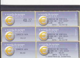 Portugal Selos Novos E Usados  (etiquetas) - Storia Postale