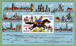 BRD 2020 - Block 86 - Postfrisch - EUROPA: Historische Postwege - Mi-Nr. 3545 - Katalogwert = 1,70 € - Blokken