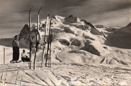 ~~ Zermatt - Gornergratbahn , Monte Rosa Vom Gornergrat - VS Valais