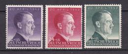 Generalgouvernement - 1943 - Michel Nr. 101/103 - Postfrisch - Ocupación 1938 – 45