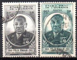 Océanie: Yvert N° 180/181 - Used Stamps
