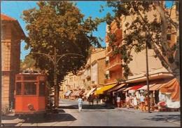 Ak Spanien - Mallorca - Puerto De Soller - Stadtansicht - Straßenbahn - Mallorca
