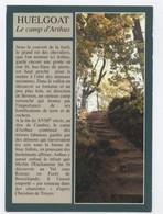 29 HUELGOAT Le Camp D'Arthus .--RECTO /VERSO-- B96 - Huelgoat
