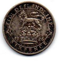 Grande Bretagne -  3 Pence 1926 - TB+ - F. 3 Pence