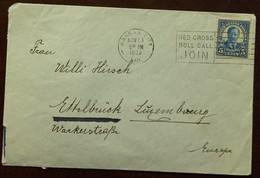 USA Brief Uit 1938 Mooie Stempels - 1921-40
