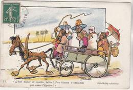 Cpa Humour D' Algérie  Par Drack-Oub L'bon Motor Di Crottin, Taîba ! - Humour