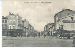 LAVAUR - LE GRAND FAUBOURG  ( Animées GRAND CAFE + TABAC ) - Lavaur