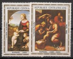 Centrafricaine - 1982 - Poste Aérienne PA N°Yv. 261 à 262 - Noel / Raphael - Neuf Luxe ** / MNH / Postfrisch - Centraal-Afrikaanse Republiek