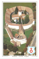 (ROMANIA) TARTLAU/PREJMER, FORTRESS AND EVANGELICAL-SAXON CHURCH, CETATEA SI BISERICA - New Postcard - Rumania