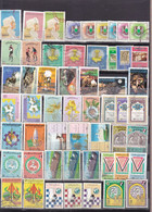 Stamps LIBYA 1977 1981 1984 1989 TRIPOLI FAIR And Others SETS #221 - Libye