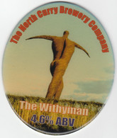 NORTH CURRY BREWERY   (NORTH CURRY ENGLAND) - THE WITHYMAN - PUMP CLIP FRONT - Letreros