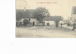21 - NEUILLY-les-DIJON - La Place. Animée, CPA Ayant Circulé En 1907. BE. - Andere Gemeenten