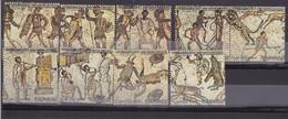 Stamps LIBYA 1983 SC 1148 ROMAN MOSAIC VF USED FULL SET #236 - Libye