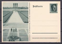 Deutsches Reich - 1937 - Propagandakarte - Adolf Hitler Reichsparteitag Nürnberg - Ungebr. - Stamped Stationery