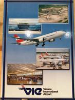 Flughafen Airport WIEN SCHWECHAT Austria Loi - Airmen, Fliers