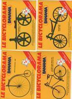 16 CARTES LE BICYCLORAMA BANANIA  TOUR DE FRANCE 1982 - Cycling