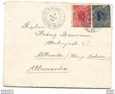 237 - 4 - Enveloppe Envoyée De S. Paulo En Allemagne 1902 - Cartas