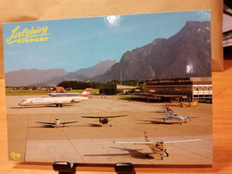 Flughafen AIRPORT SALZBURG Austria - Aerodromes