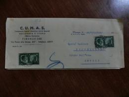 Envelope 1941 - Storia Postale