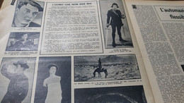 CALENDARIO DEL POPOLO 1963 BUSTER KEATON LA TRAGEDIA DEL VAJONT LONGARONE - Sin Clasificación
