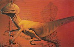 TULSA , Oklahoma , 1950-60s ; Deinonychus Dinosaur, American Living Museum - Tulsa