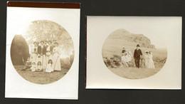 Conjunto De 2 Fotografias Antigas MADEIRA. SET Of 2 Old Photos PORTUGAL 8.1cm X 10.7cm  / Cada - Anciennes (Av. 1900)