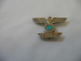 "Medaille Insignes Allemand Ww2 ""1939"" ,à Identifier - Sin Clasificación"