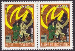 3669, Paire, 1 Sans Phospho, 1 Une Barre A Gauche, Neuf, Signé Calvès - Variedades: 2000-09 Nuevos