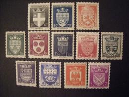 FRANCIA - 1942 Y.T. N. 553/564. . Neuf** Sans Charniere Perfect. TB - Unclassified