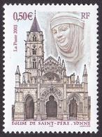 3586, Eglise De Saint Pierre, Sans Phospho, Neuf, Signé Calvès - Variedades: 2000-09 Nuevos