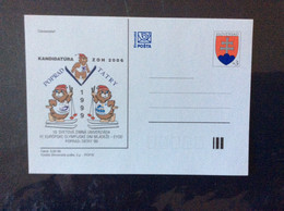1998 CDV 31 Candidature J.O. Hiver 2006 Et Olympiade Des Jeunes à Poprad Tatras - Postales