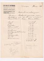 A. De Vos & O. Van Rompaey - Specialiteit Van Alle Soorten Saucissen En Gerookt Vleesch - Wommelghem - Wommelgem - 1919 - Food