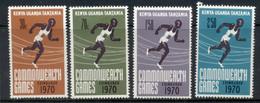 Kenya Uganda & Tanzania 1970 Commonwealth Games Edinburgh MLH - Kenya, Uganda & Tanzania