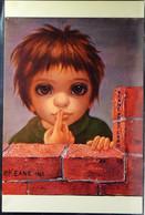 The Whisper Par Walter Keane 1963 Chrome Postcard Carte Postale Semi-Moderne Not Posted LUX NM - Andere Zeichner