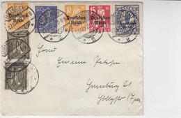 Brief Mit Ua. 130 Aus TÜBINGEN 17.5.22 - Cartas