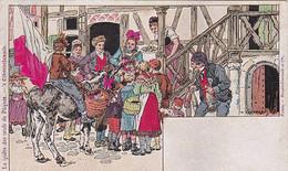 Usages Et Costumes D'Alsace -- La Quête Des Oeufs De Pâques --- 3032 - Alsace