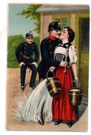 CPA-Couple- Voir état - Couples