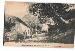 Belvédère Le Poste De La Douane Les Douaniers Martino édition Top Rare 1 Pli Bas Droit Voyagée En 1922 S04 - Sonstige Gemeinden