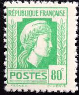 N° 636  NEUF ** SANS CHARNIÈRE ( LOT:378 ) - 1944 Coq Et Marianne D'Alger